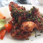 Gokarna Forest Resort Golf club Chicken wings.
