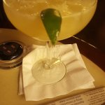 Diamond margarita from the Q Bar