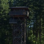 Fire tower at Tillamook Forest Ctr.