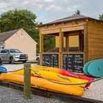 Dockside Boat Rentals will deliver kayaks & bikes to Sandaway