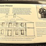 Plaque about the Grant House