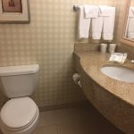 Room 328 at the Hilton Garden Inn in Colorado Springs near the Airport.  I am a Diamond Club mem