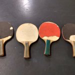 Table Tennis Rackets in bad shape