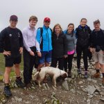Ayling family conquer Hellvellyn with the help of Lakeland Mountain Guides!