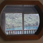 View thru the porthole when in the shower