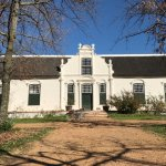 The main house at Boschendal - well worth visiting.