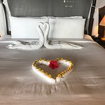 This is Hemant who kept our room so well and presented us with different towel sculptures each d