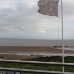 View from the residents lounge balcony over the solway firth