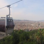Cable car up to the castle