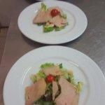 Bouquet gourmand au foie gras