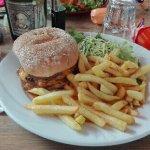 Poulet tandoori et burger us
