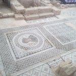 Theatre Kourion - Roman Mosaics