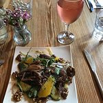 Duck Salad - absolutely delicious!