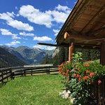 Ausblick von unserer Heidi Hütte