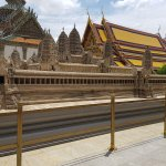 Small scale model of Angkor Wat