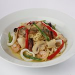 SEAFOOD IN OLIVE OIL PASTA