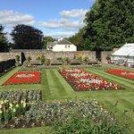 Garden in Melrose, opposite abbey