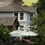 View from across the river, the Tearoom is nestled in the beautiful Cumbrian countryside