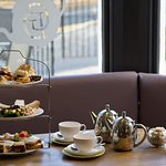 Afternoon tea for two - go on, treat yourselves!