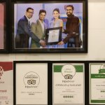 all the praises, awards and accolades for the quality food and service