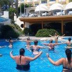 Water aerobics! So much fun!