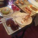 Une partie des desserts