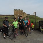 End of the trail - Tynemouth priory and castle.
