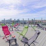 Terrasse panoramique Solarium
