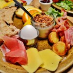 Traditional Icelandic Breakfast Plate