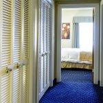 Standard Suite Hallway between Bedroom and Living Room