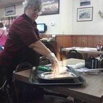 Saganaki (OPA) Flaming Cheese