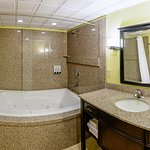 VIP Suite bathroom with whirlpool tub