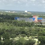 Epcot and Swan & Dolphin resort.
