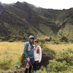 From July, 2017 - we hiked from the top, down and through the crater, and then hitch-hiked back