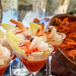 Seafood feast at Tastes of the World brunch every Friday