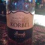 Korbel Brandy, a very nice digestif
