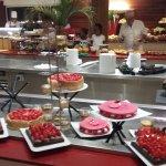 Buffet de desserts lors du dîner de gala