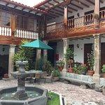 Second courtyard Hotel Rumi Punku