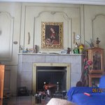 Front parlor - common area, a taste of the old world.