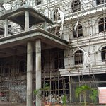 Under construction ISKCON temple