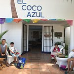 Hotelito El Coco Azul Foto