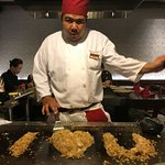 Fun With Fried Rice at Benihana in Oahu