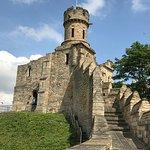 A walk along the castle walls