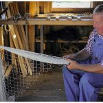 Fishing net manufacture