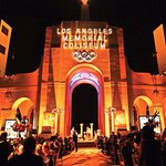 Private party bookings are available on the historic Peristyle of the Los Angeles Memorial Colis