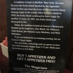 Magic Menu info.