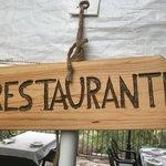 Zona de la terraza de restaurante