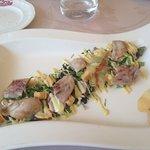 cesar salad con petto di quaglia