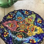 Beautiful Turkish Plate that Evelyn had Collected