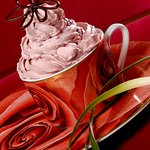 Strawberry Mousse in Roberto Cavalli Cup